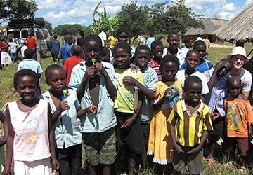 Hyväntekeväisyystyö Sambiassa